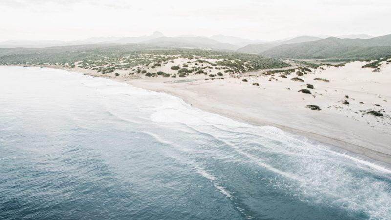 Piscinas: dune e mare creano un'atmosfera unica